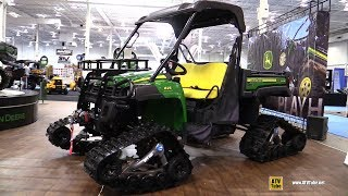 8. 2018 John Deere Gator XUV 825 i with Camso Snow Track Kit - Walkaround - 2017 Toronto ATV Show