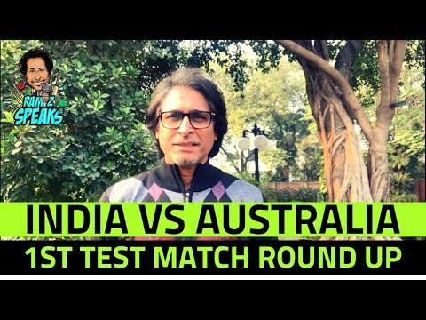 India Vs Australia | 1st Test Match Round Up | Ramiz Speaks
