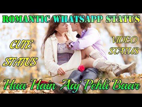 Romantic College Love Story    Hua Hain Aaj Pehli Baar    Romantic Whatsapp Status