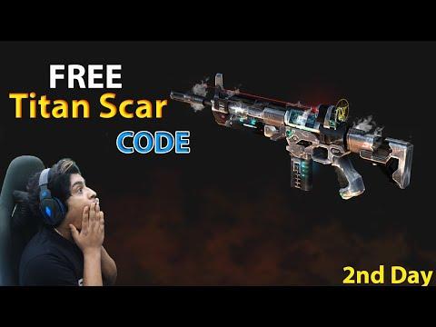 2 Day Titan Scar Code Giveaway - Garena Free Fire Live