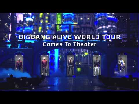 BIGBANG ALIVE GALAXY WORLD TOUR Comes To Theater!