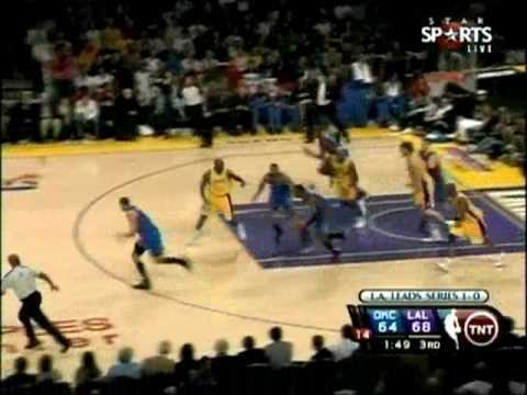 Thunder's 17 Blocks vs. Lakers - 2010 Playoffs