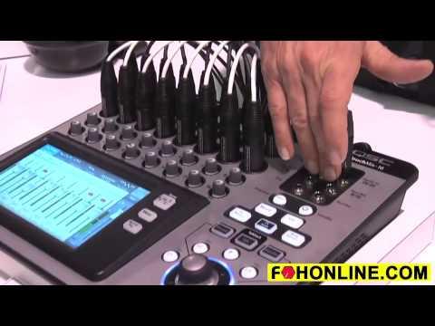 QSC TouchMIx Digital Audio Mixing Console Review