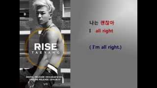 This is a mega hit Kpop song in 2014. Taeyang , a main vocal of Big Bang has a such sweet voice to express this song very...