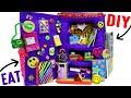 DIY Edible School Locker | EAT Locker Decor, Combination Lock, Books n  Back To School Supplies!