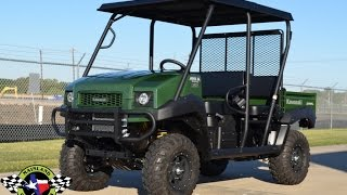 8. $11,899:  2017 Kawasaki Mule 4010 Trans with Lift, 26 Tires and a Steel Top