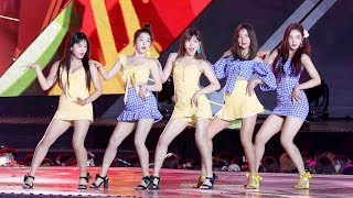 Video 180902 레드벨벳(Red Velvet) Full ver. (Power Up + 피카부 + Bad Boy + 빨간맛) [인천공항스카이페스티벌] 4K 직캠 by 비몽 MP3, 3GP, MP4, WEBM, AVI, FLV September 2018