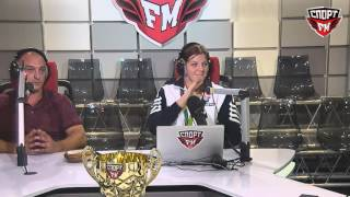Бронзовый призер Рио-2016 Екатерина Букина в гостях у Двойного удара