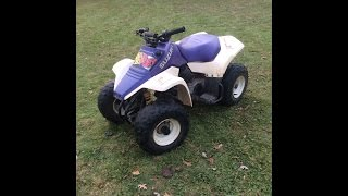 8. Suzuki Lt80 Quad Sport Start Up And Info