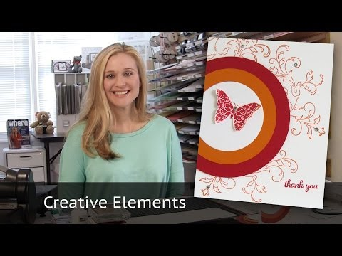 cards - This Video Tutorial features another 10 cards in 20 minutes from Brandy Cox featuring Stampin Up Products. It highlights the Creative Elements Stamp Set from...