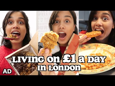 living on £1 a day in LONDON   clickfortaz
