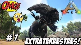 DINOSAURIOS EXTRATERRESTRES!!!! WTF!! // ARK 2 mod serie #7 -DINOSAURIOS en Español HD