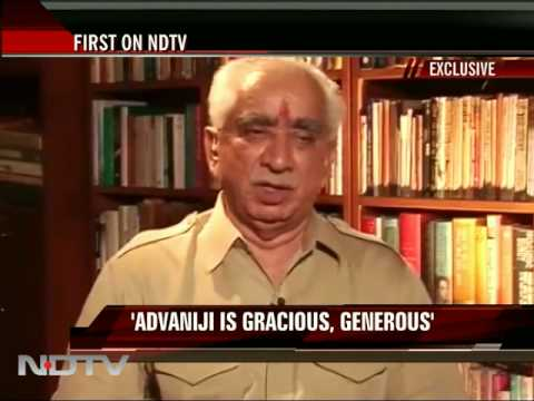 Jaswant to NDTV: Stand by Comments on Jinnah, Hindutva