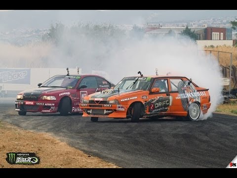 drift race: alfa romeo 75 twin turbo vs. bmw m3 e46