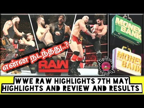 WWE Raw Highlights 7th May Highlights And Review And Results/World Wrestling Tamil