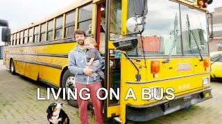 School Bus Conversion | Rebuilt as hostel (for living on the road)