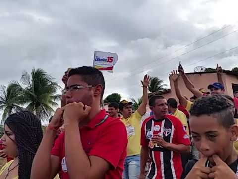 Doutor Oliveiro Torres grande caminhada em Igaci 11 de setembro de 2012