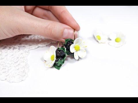 Мастер класс по полимерной глине серьги