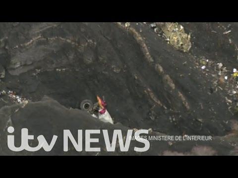 VIDEO: Desastre aéreo dos Alpes