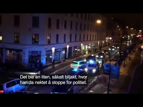 Norway: Police Chase Comes To An End - Discoveres A Victim In The Trunk