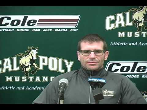 Cal Poly Wrestling Head Coach Brendan Buckley