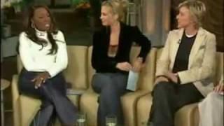 Ellen Degeneres Portia de Rossi Interviews with the Ladys of TheView