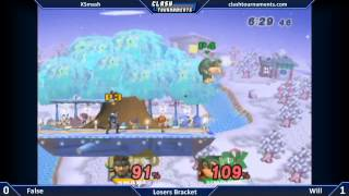 Will (DK) vs False (Snake) – Incredible and Flashy Match!