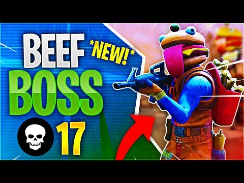 *NEW* Beef Boss 17 Kill Game Feat. Timthetatman (Fortnite Battle Royale)