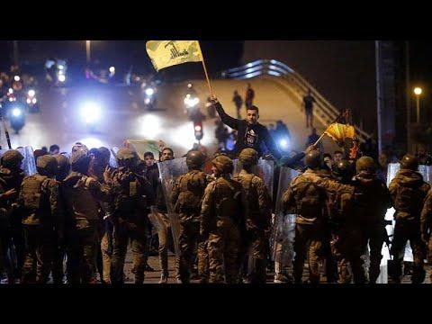 Liban : des partisans du Hezbollah attaquent des manifestants antigouvernementaux