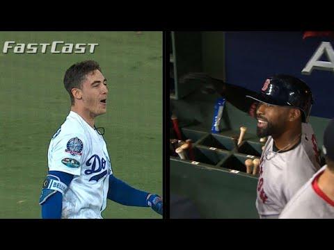 Video: MLB.com FastCast: Dodgers walk off in 13th - 10/16/18