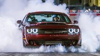 Video Dodge Demon vs Lamborghini Aventador | Top Gear: Series 25 MP3, 3GP, MP4, WEBM, AVI, FLV Agustus 2019