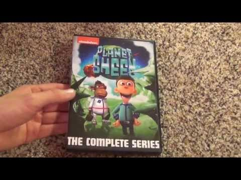 Nickelodeon Planet Sheen The Complete Series DVD Unboxing from Amazon