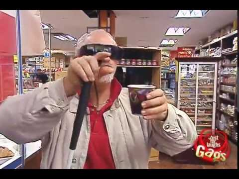 بوس الثدي - http://gags.justforlaughs.com | Subscribe! http://goo.gl/wJxjG A gas station cashier with a weird fetish gives some of her breast milk to a blind man. BUY Pe...