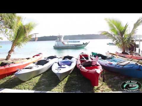Amy Wild Adventures: A Shameless Plug for Bokissa Private Island, Vanuatu (видео)