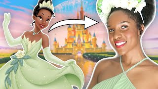 Transforming into Disney Characters! (Disneybounding + Real Animation!) by Clevver Style