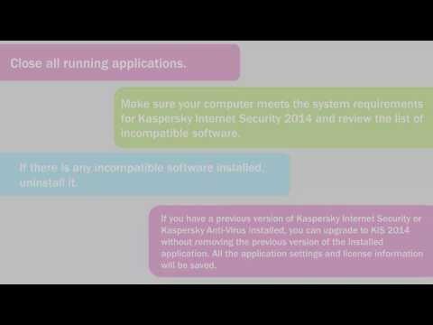 comment installer l'antivirus kaspersky 2014