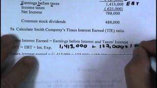 Financial Management: Supplemental Homework - Chapter 3