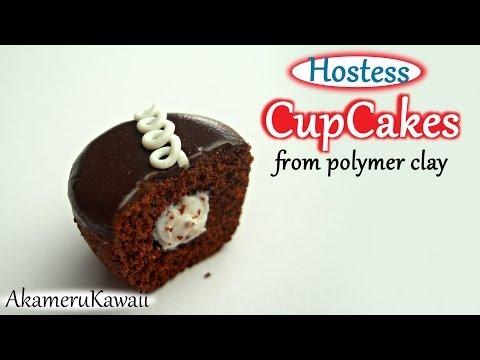 tutorial fimo - cupcake