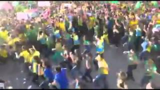 DANCINHA DO IMPEACHMENT  FORA DILMA LIVE FROM FORTALEZA - 16/08