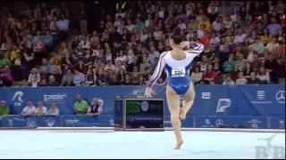 Final FX - FRAGAPANE Claudia (GBR) - European Gymnastics Championships 2017 13.533