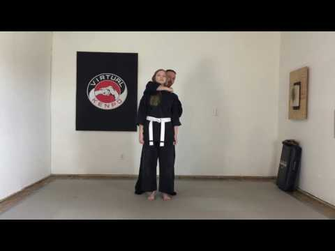 Japanese Strangle Hold - Virtual Kenpo - Yellow Belt - Week 1