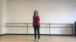 Michelle Martinelli sings an audition cut of I'm Not Afraid of Anything at Ripley Grier studios in New York City, accompanied by Jacob Houser.
