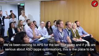 Olivier Verdin from the mighty Apptweak on App Store Optimization / ASO at App Promotion Summit