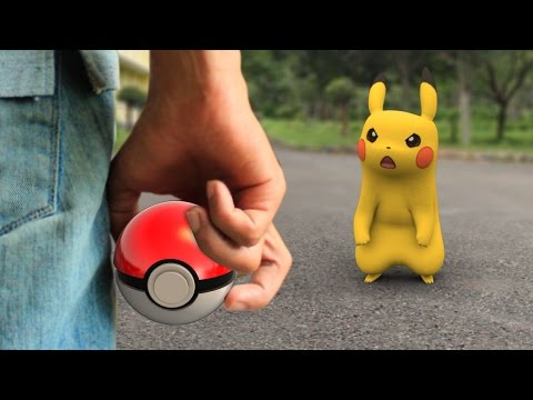 Pokemon GO In REAL LIFE