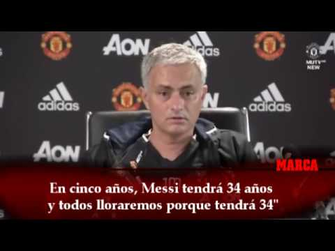 Mourinho: En cinco años, Messi tendrá 34 años y lloraremos (видео)