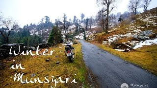 Munsiyari India  city images : Winter Bike Ride to Munsyari (Kumaon Himalayas, Uttarakhand) India.