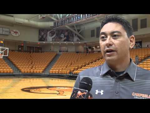 Campbell Volleyball - CSU-CCU Preview - 10/3/14