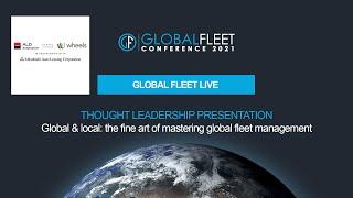 Global & local: the fine art of mastering global fleet management