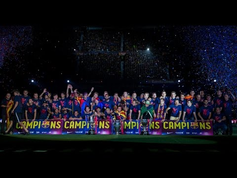 FC Barcelona - The Treble Celebrations At Camp Nou