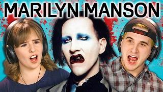 Video TEENS REACT TO MARILYN MANSON MP3, 3GP, MP4, WEBM, AVI, FLV Juli 2018